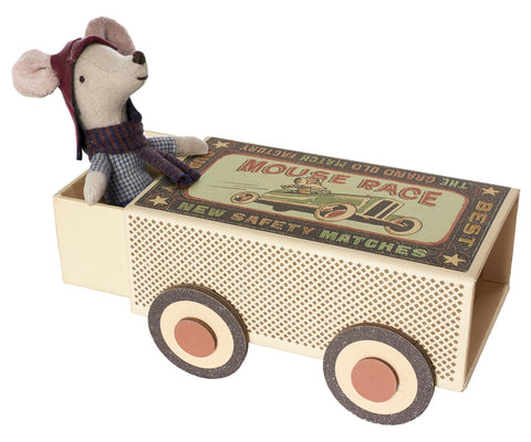 Maileg Big Brother Mouse Racer in a Box - Little Me Little You