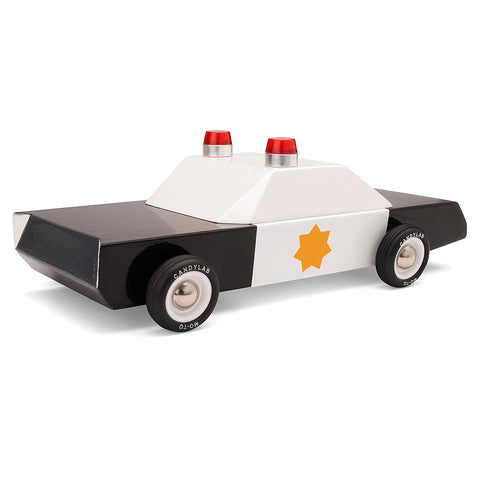 Police Cruiser Toy Car - Little Me Little You
