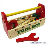 Tool box with Wooden tools