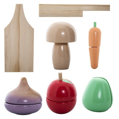 Wooden Food Play Set