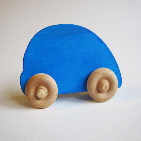 Wooden Beetle Car