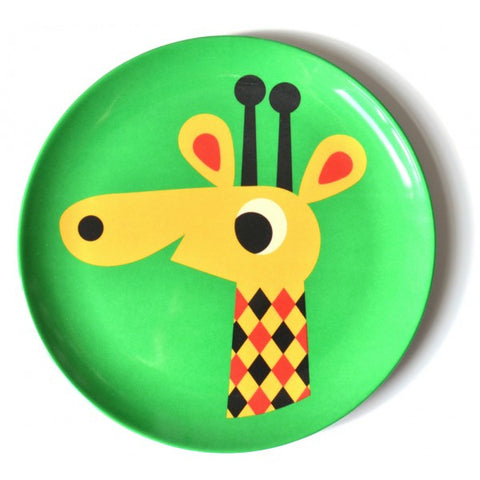 Giraffe Plate - Little Me Little You