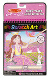 On the Go Scratch Art: Color-Reveal Pad - Fairytales