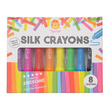 Silk Crayons - 8 pack - Little Me Little You