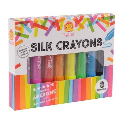 Silk Crayons - 8 pack