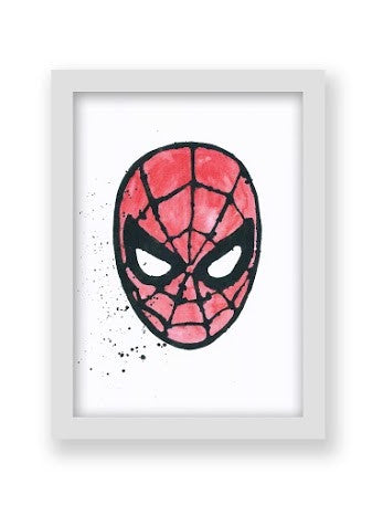 Spiderman A4 Print - Little Me Little You