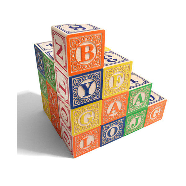 Wooden Classic ABC Blocks - Little Me Little You