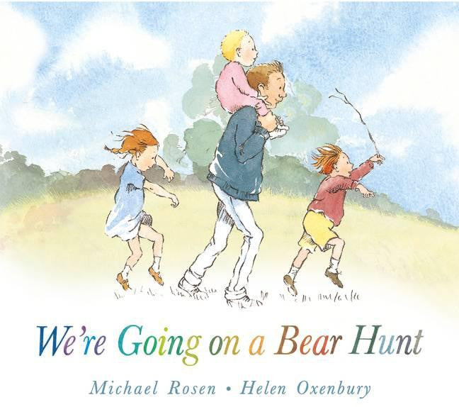 We're Going on a Bear Hunt board book - Little Me Little You