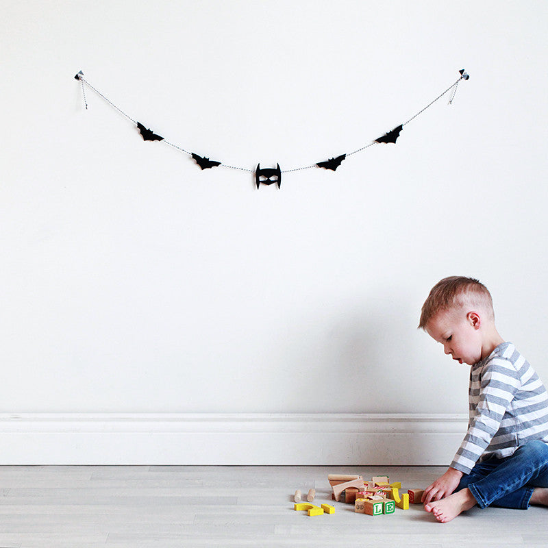 Bat Felt Garland - Little Me Little You