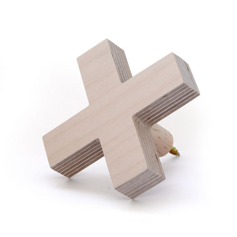 Big Cross Wall Hook (multiple colours available)
