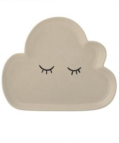 Smilla Cloud Shape Ceramic Plate - Little Me Little You