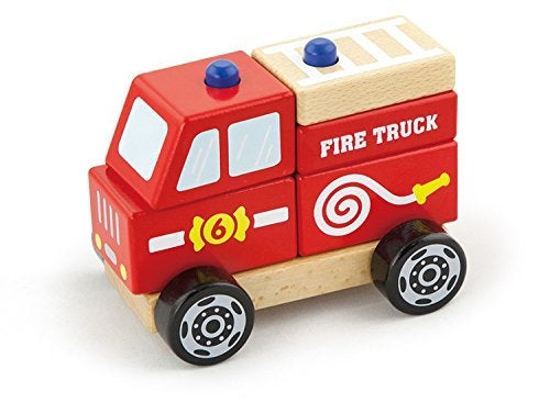 Wooden Fire Truck - Little Me Little You