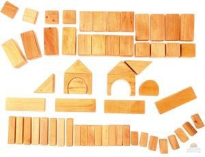 Grimms 60 piece Natural Block Set - Little Me Little You