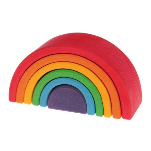 Grimms Stacking Rainbow - medium - Little Me Little You
