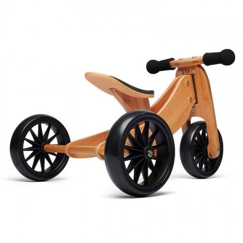 Kinderfeets Tiny Tot Trike - Bamboo - Little Me Little You