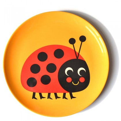 Ladybird Plate - Little Me Little You