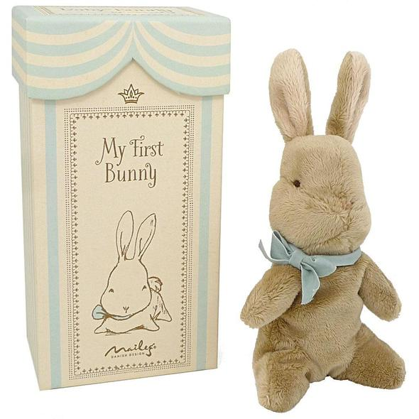 Maileg My First Bunny - Blue - Little Me Little You