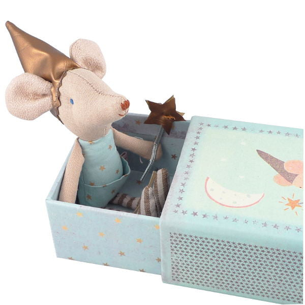 Mouse Dream and Tooth Fairy in a Box - Blue - Little Me Little You