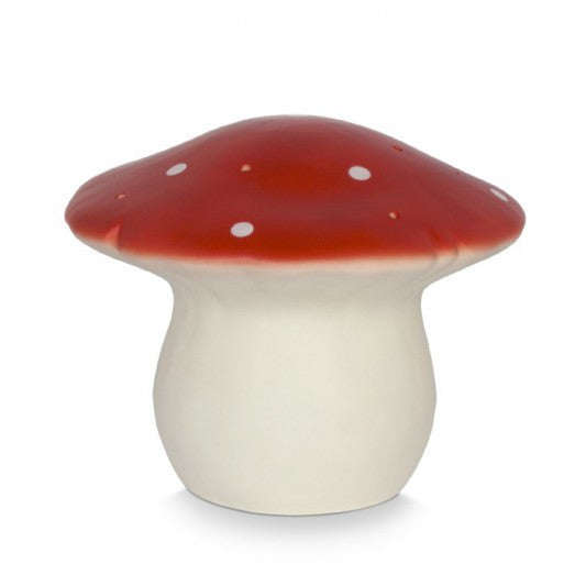 Medium Toadstool Lamp - Red - Little Me Little You