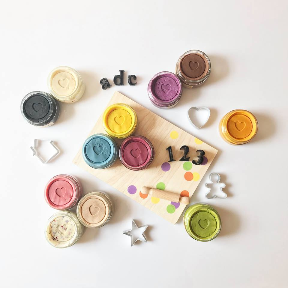Playdough Board - Little Me Little You