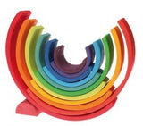 Grimms Stacking Rainbow - large - Little Me Little You