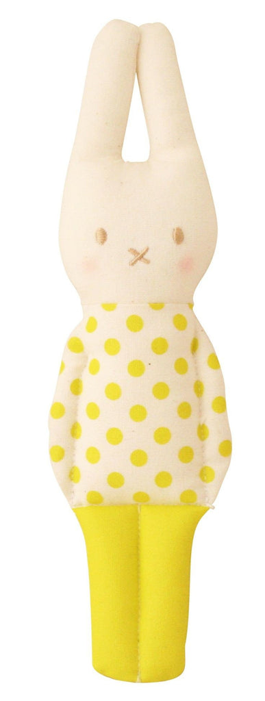 Remy Lapin Rattle - Pop  Yellow - Little Me Little You