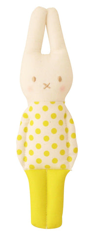 Remy Lapin Rattle - Pop  Yellow