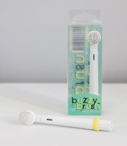Buzzy Brush Electric Toothbrush Replacement Heads