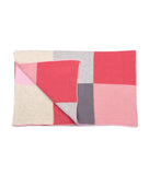 Patchwork Blanket - Strawberries and Cream - Little Me Little You