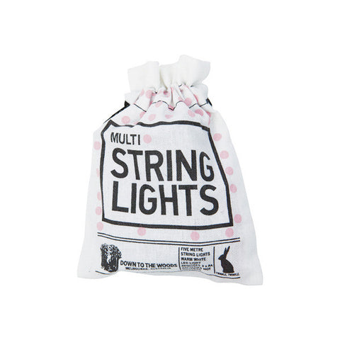 String lights - Pink - 5m - Little Me Little You