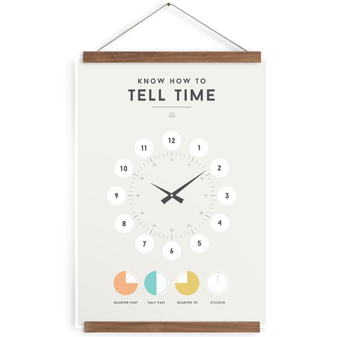 Tell Time poster