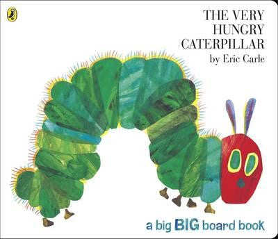 The Very Hungry Caterpillar big-board book by Eric Carle - Little Me Little You