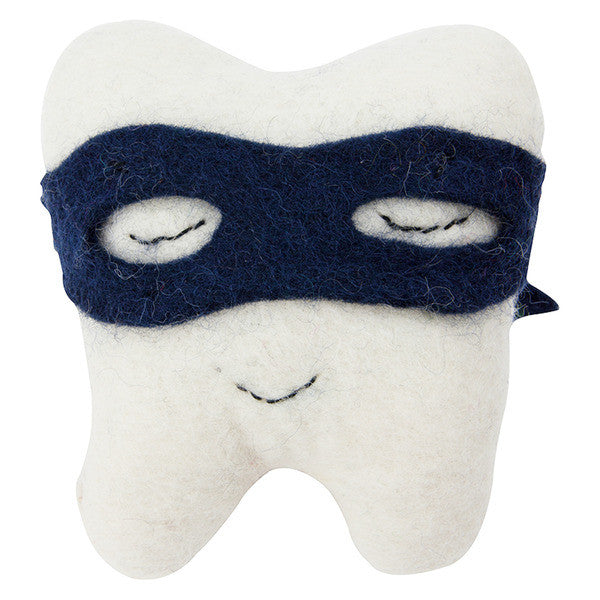 Tooth Fairy Cushion - Tooth Bandit