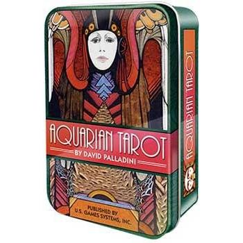 Aquarian Tarot Deck with Tin - Earthly Alchemist