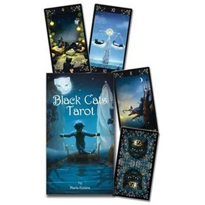 Black Cats Tarot Deck - Earthly Alchemist