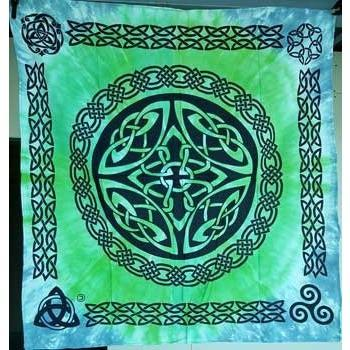 "Shield Knot Altar Cloth, 36"" x 36"" - Earthly Alchemist"