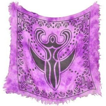 "Goddess Altar Cloth, 18"" x 18"" - Earthly Alchemist"