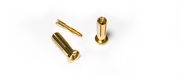 5mm Gold-profile Bullet Connector
