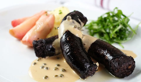 Patrons come from all over the place to enjoy our home made black pudding! Always prepared to perfection.
