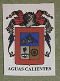 Aguascalientes Mexico. Coat Of Arms Decal Sticker Full Color/Weather Proof.