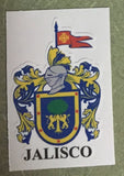 Jalisco Mexico. Coat Of Arms Decal Sticker Full Color/Weather Proof.