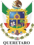 Querétaro Mexico. Coat Of Arms Decal Sticker Full Color/Weather Proof.