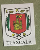 Tlaxcala Mexico. Coat Of Arms Decal Sticker Full Color/Weather Proof.