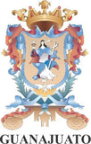 Guanajuato Mexico. Coat Of Arms Decal Sticker Full Color/Weather Proof.