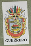 Guerrero Mexico. Coat Of Arms Decal Sticker Full Color/Weather Proof.