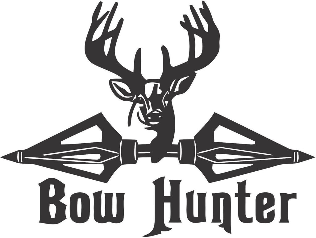 Bow Hunter Sticker Decal 20 Colors To Choose From.