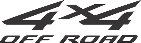 4x4 Off Road Sticker Decal 20 Colors To Choose From.