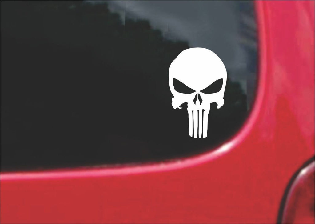 Punisher Sticker Decal 20 Colors To Choose From.