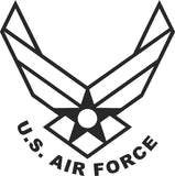 Air Force Sticker Decal 20 Colors To Choose From.