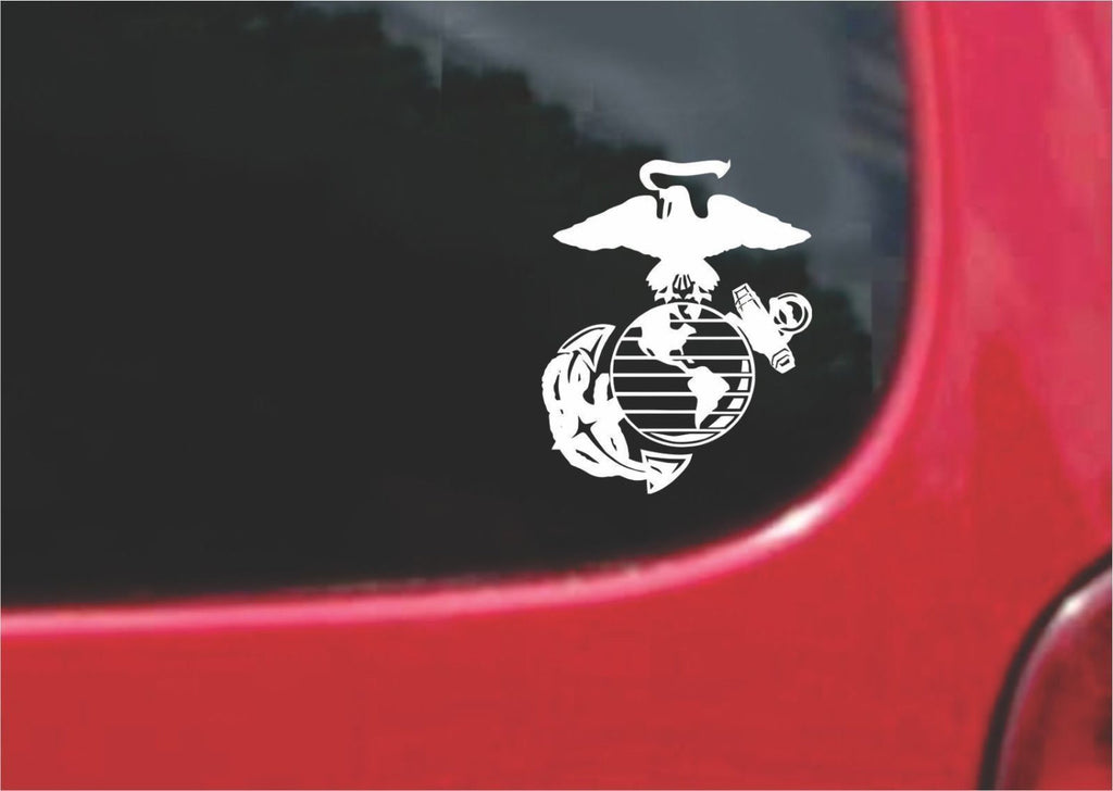 US Marines Eagle Globe Anchor Sticker Decal 20 Colors To Choose From.